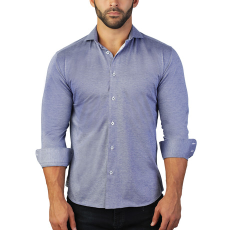 Einstein Dress Shirt // Blue (S)
