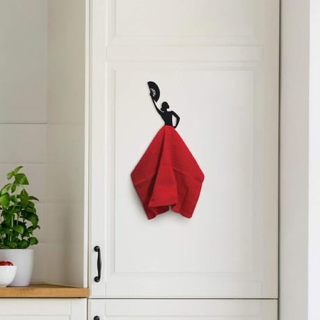 Olé Hook // Kitchen Towel Hanger // Set of 2