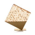 Pyramid Matzah Holder (Silver)