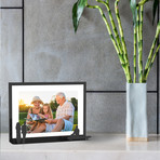 Work of Art Photo Frame // Couple & Bench