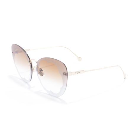 Women's SF178S Sunglasses // Shiny Gold + Burnt Mint