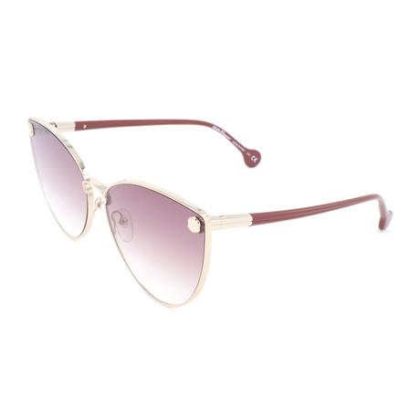 Women's SF185S Sunglasses // Gold + Brown