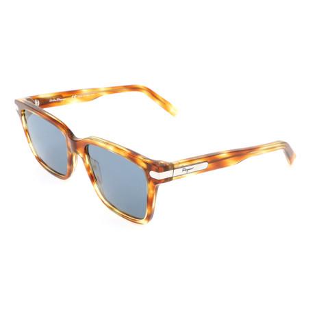 Men's SF917S Sunglasses // Striped Caramel