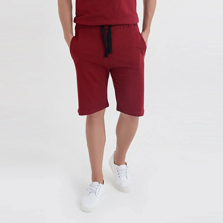 Lexington Short // Bordeaux (XS)