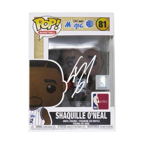 Shaquille O'Neal // Signed Orlando Magic NBA Legends Funko Pop Doll