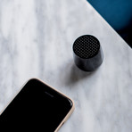 UV Sanitizing Qi Charger + Bluetooth Speaker Bundle (Matte Black // Alu Black)