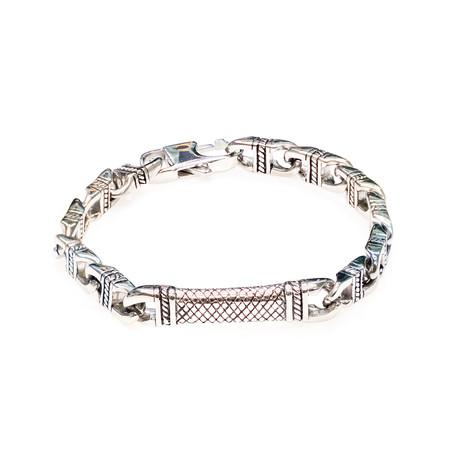 Dell Arte // Link Chain Bracelet // Silver