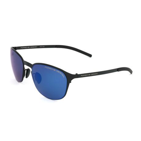 Unisex P8666 Sunglasses // Black + Blue