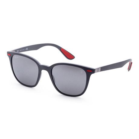 Men's Classic Sunglasses // Matte Gray + Silver