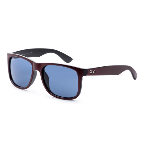 Men's Fashion Polarized Sunglasses // Bordeaux Metallic + Black