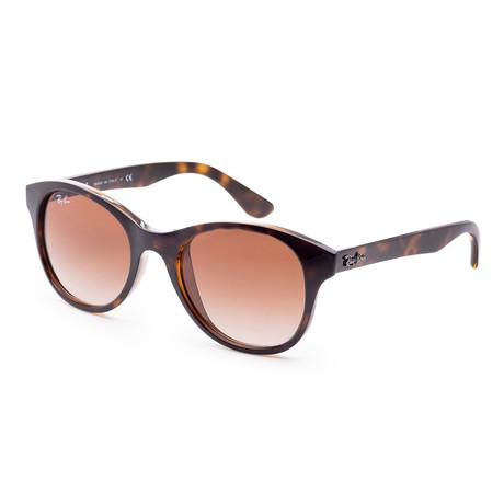 Women's RB4203-710-1351 Fashion Sunglasses // Shiny Havana + Brown
