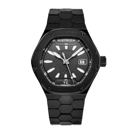 Dietrich Time Companion Automatic // TC PVD BLACK // Store Display