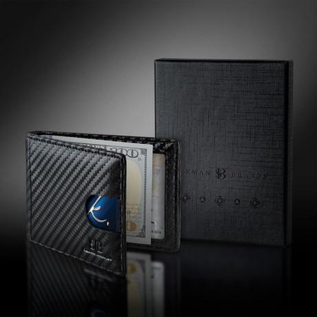 1.0 Wallet // Carbon Fiber Pattern