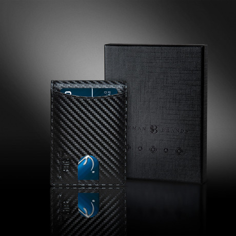1.S Wallet // Carbon Fiber Pattern