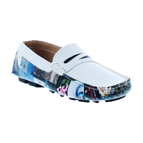 Cosimo Loafers // White (US: 8)