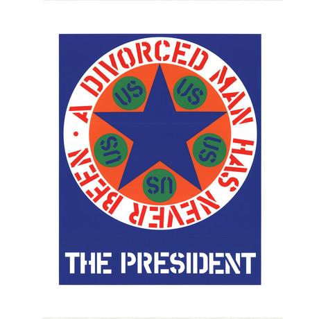 The President // Robert Indiana // 1997 Serigraph