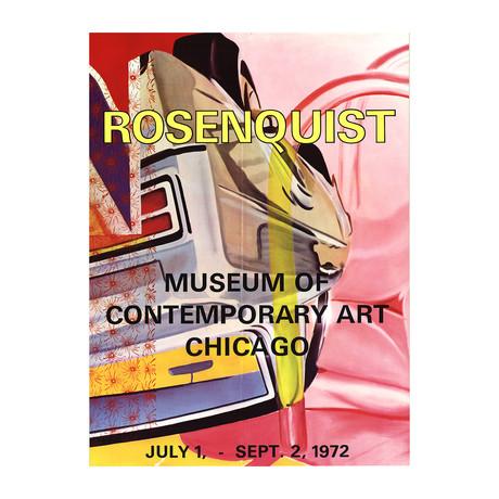 Museum of Contemporary Art Chicago // James Rosenquist // 1972 Offset Lithograph