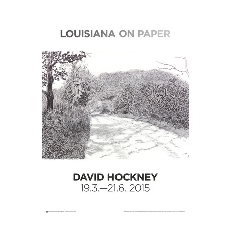 Woldgate // David Hockney // 6-7 May from The Arrival of Spring in 2013 // 2015 Offset Lithograph