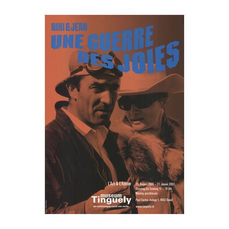Un Guerre des Joies // Tinguely & Saint Phalle //2006 Offset Lithograph