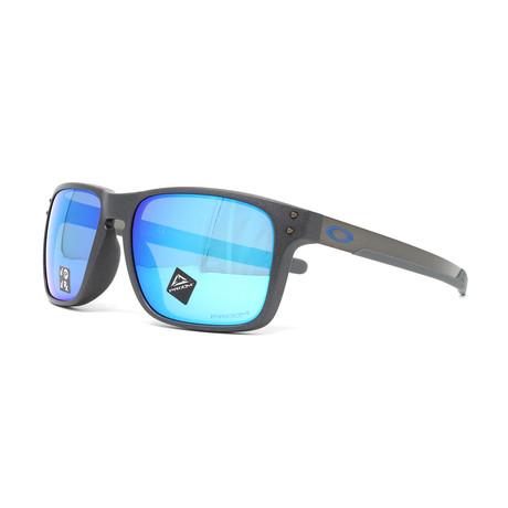Oakley // Men's Holbrook Mix (A) OO9385 Polarized Sunglasses // 57mm // Steel