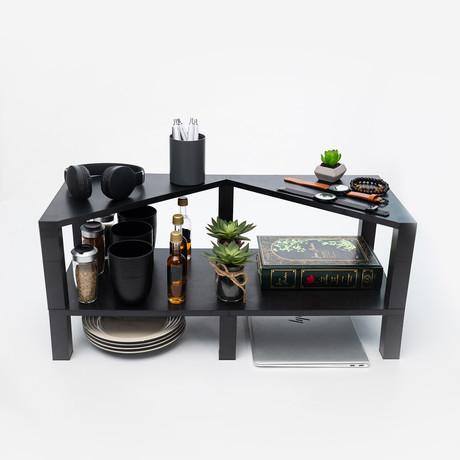 Simply Shelves // 4 Pack Kit // Black