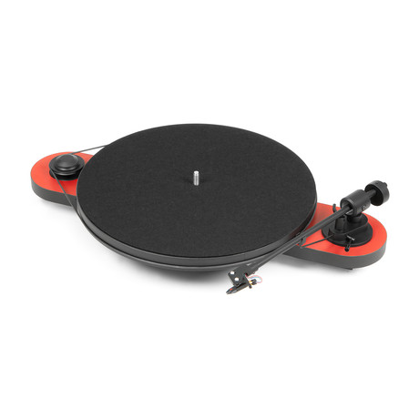 Elemental Turntable (Matte Silver + Black)