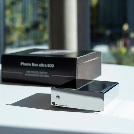 Phono Box Ultra 500 // Chrome