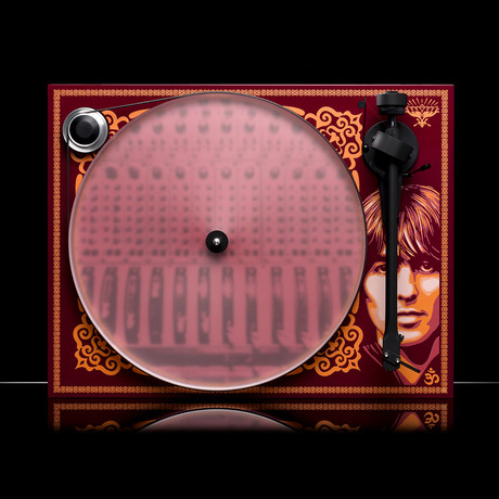 Essential III George Harrison Turntable // Maroon