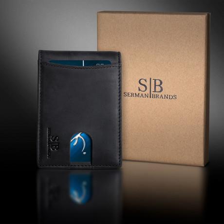 1.S Wallet // Charcoal Black