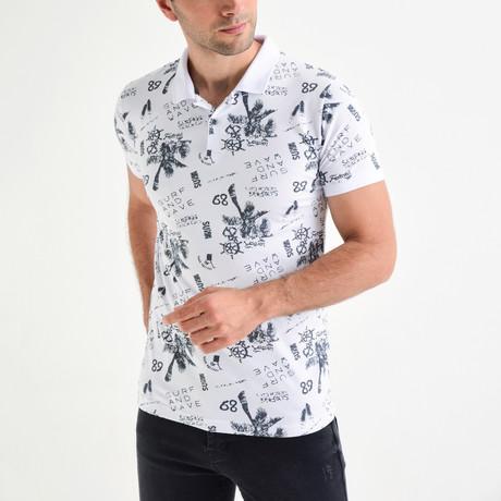 Mark Short Sleeve Polo // White (S)