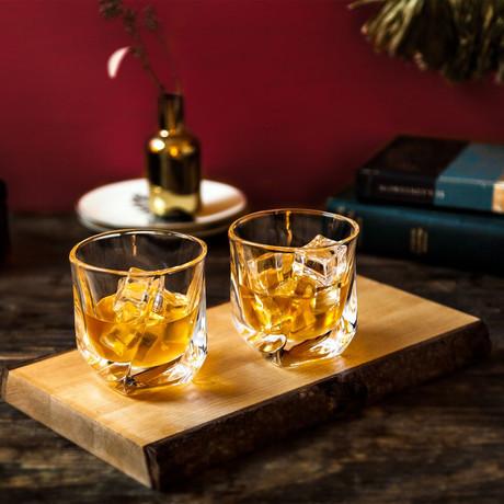 Aurora Whiskey Glasses // 8.1 oz // Set of 4