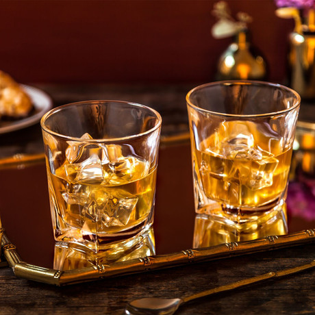 Luna Whiskey Glasses // 10.5 oz // Set of 4