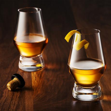 Halo Whiskey Glasses // 7.8 oz // Set of 4