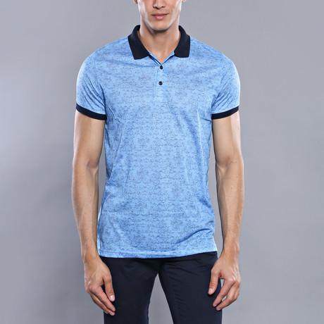 Aberdene Polo Shirt // Light Blue (XL)
