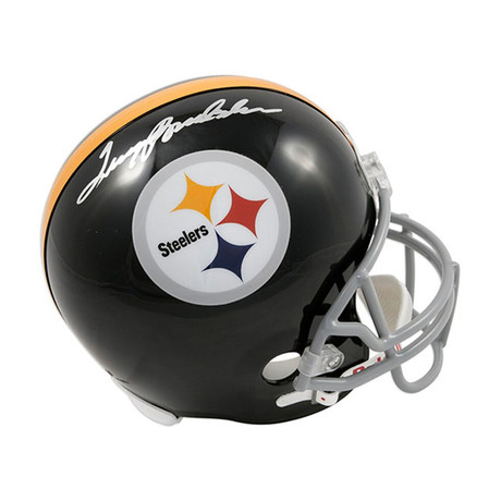 Terry Bradshaw // Pittsburgh Steelers // Autographed Football Helmet