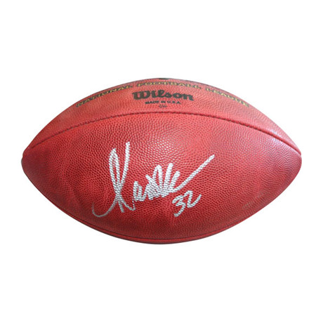 Marcus Allen // Autographed Football