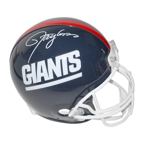 Lawrence Taylor // New York Giants // Autographed Football Helmet
