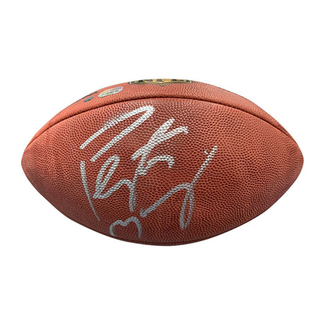Peyton Manning // Autographed Football