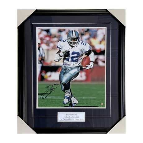 Emmit Smith // Dallas Cowboys // Autographed Photo