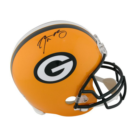 Aaron Rodgers // Green Bay Packers // Autographed Football Helmet