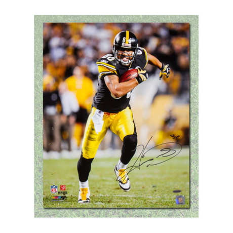 Hines Ward // Pittsburgh Steelers // Autographed Photo