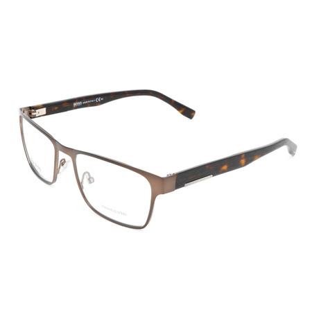 Men's 0684 Optical Frames // Matte Brown + Dark Havana