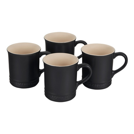 Mugs // Set of 4 (Licorice)
