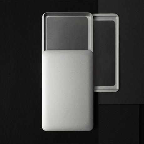 Zenlet AL Plus Wallet // Silver