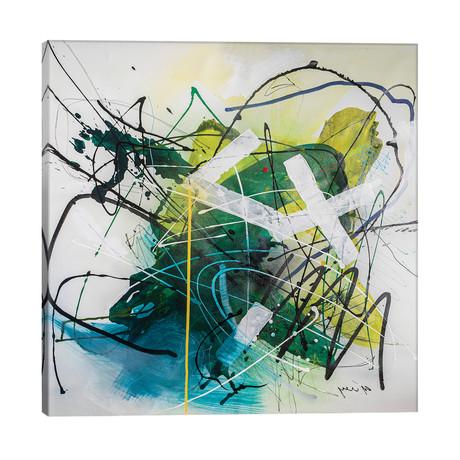 """Silent Motion // Yossef Ben-Sason (26""""W x 26""""H x 1.5""""D)"""