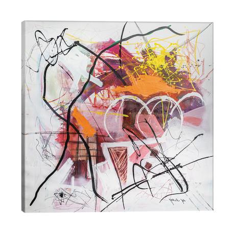 """Chaos // Yossef Ben-Sason (26""""W x 26""""H x 1.5""""D)"""