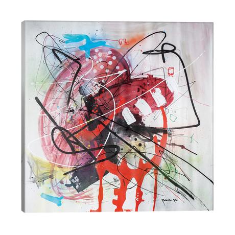 """Monkey Business // Yossef Ben-Sason (26""""W x 26""""H x 1.5""""D)"""