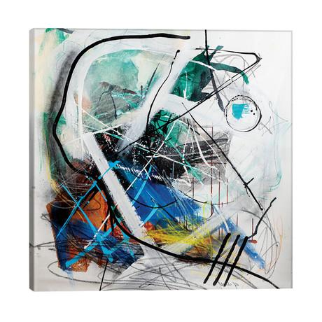 "Indise The Machine // Yossef Ben-Sason (26""W x 26""H x 1.5""D)"