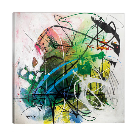 """Lovely Days // Yossef Ben-Sason (26""""W x 26""""H x 1.5""""D)"""
