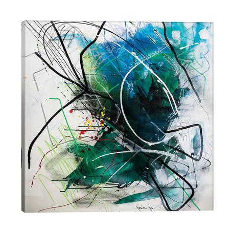 "Untitled I // Yossef Ben-Sason (26""W x 26""H x 1.5""D)"
